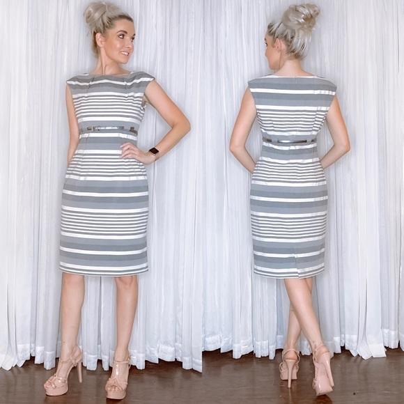 Calvin Klein Dresses & Skirts - Calvin Klein Striped Business Professional Dress